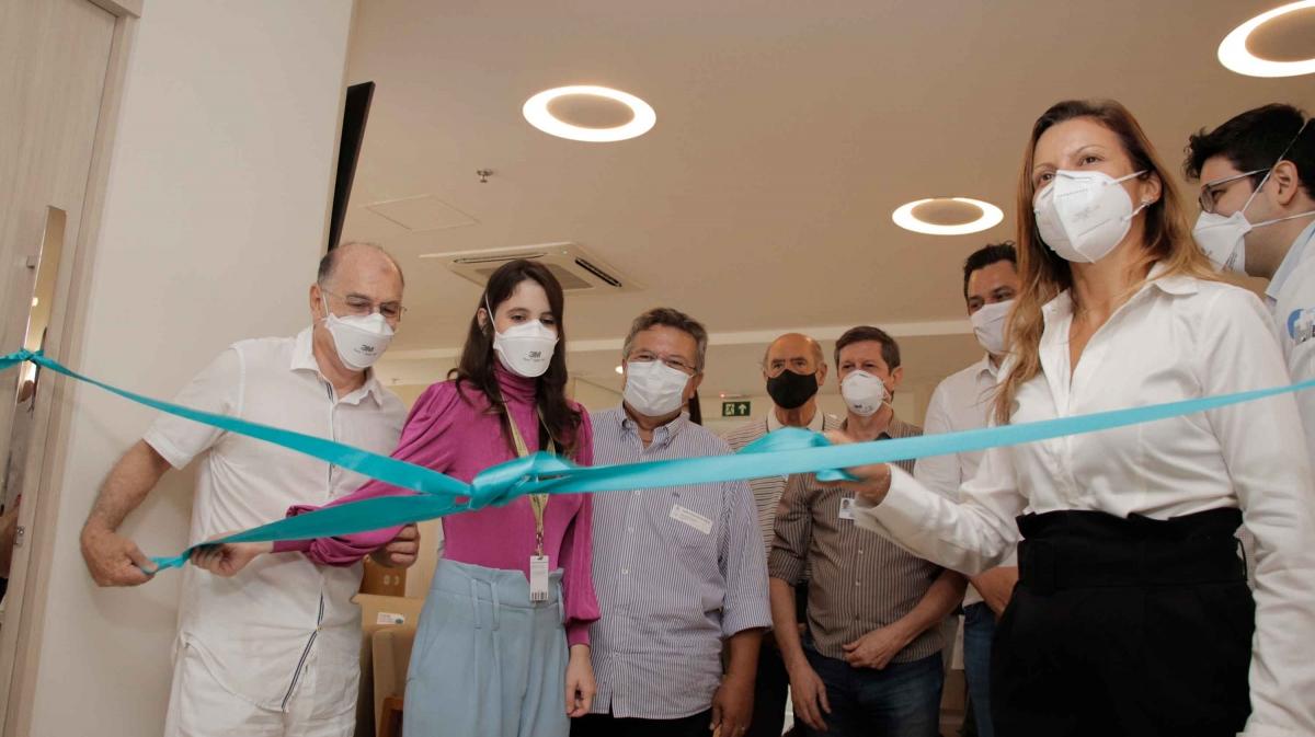 Diretoria da Funfarme apresenta HB Onco, centro de referência em oncologia