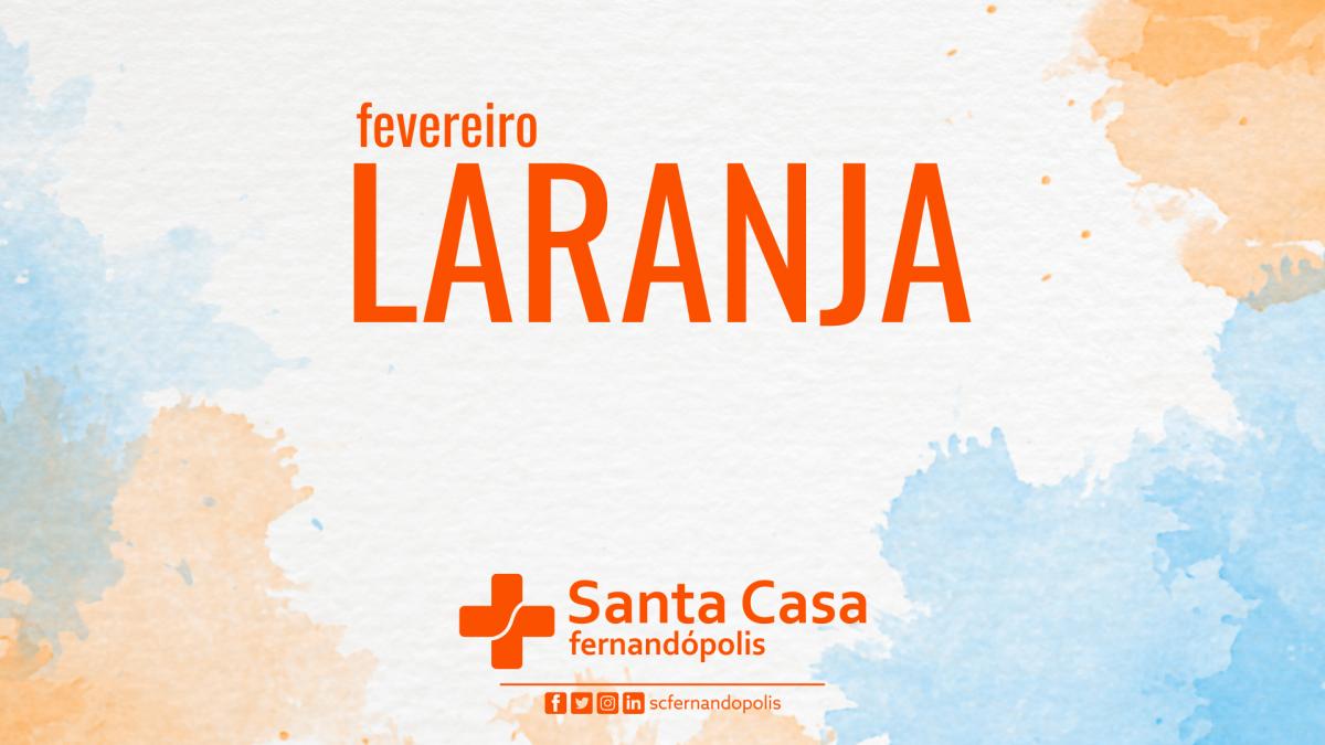 Santa Casa realiza webinar sobre Fevereiro Laranja e a Leucemia nos dias 23 e 25
