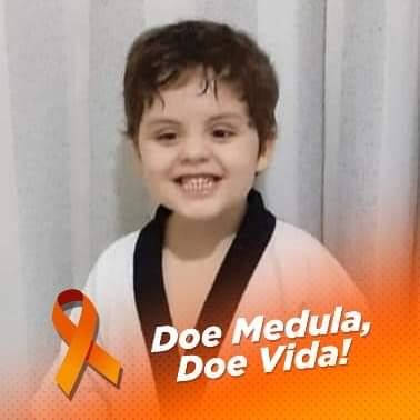 Família faz campanha para encontrar doador de medula óssea para menino de 5 anos em Araçatuba